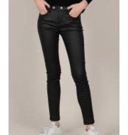 Molly Bracken Black Coated Pants
