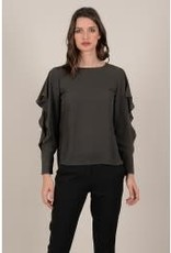 Molly Bracken Flowy Sleeve Blouse available in 2 colors
