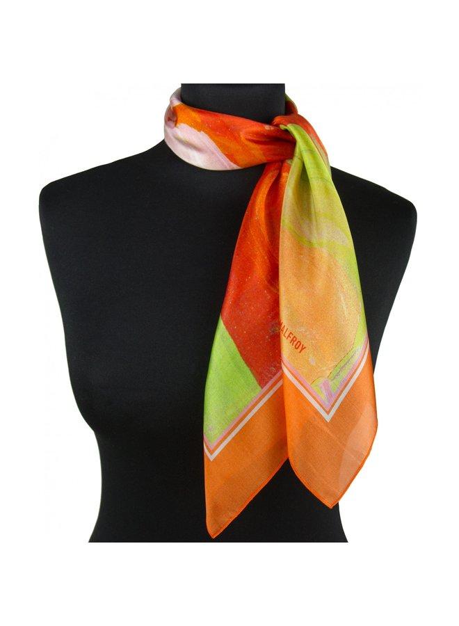 Bandana Nénuphars orange