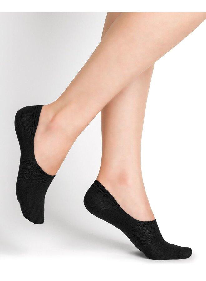 Chaussettes Invisibles Protège-Pieds - noir