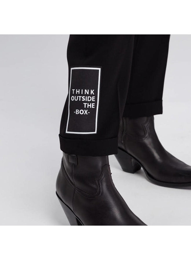 Pantalon Think outside the box  - noir
