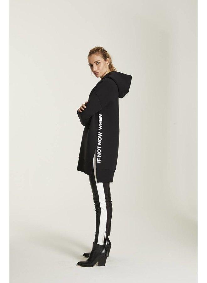 Pantalon Shiny black