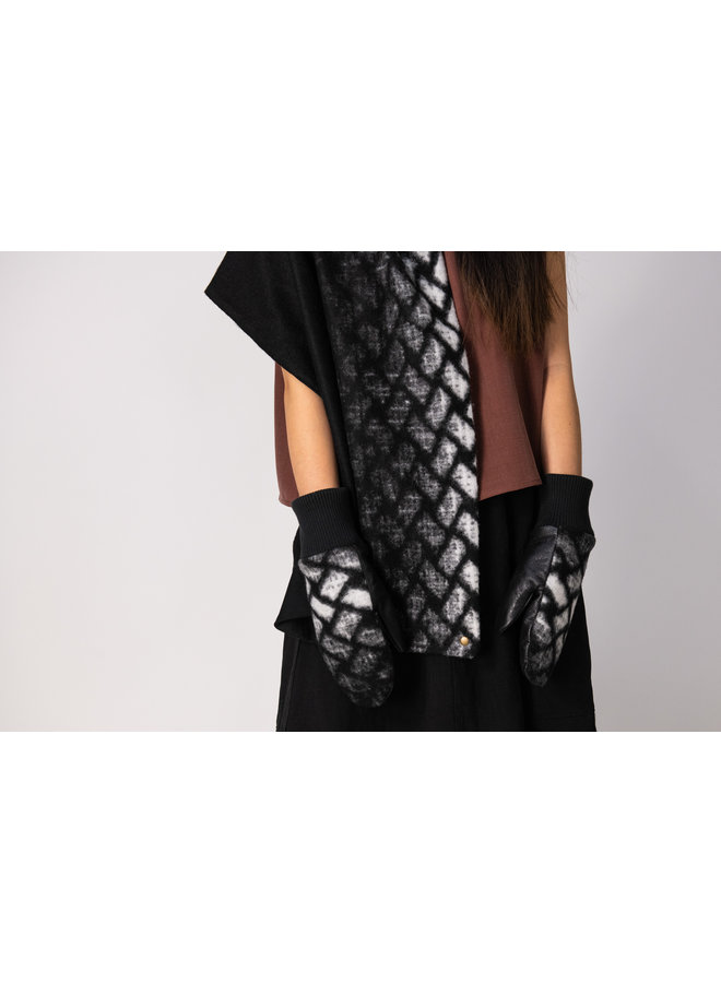 Mitaines tricot