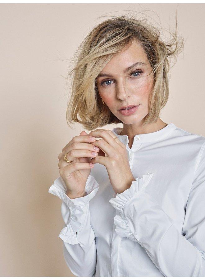 Mattie Sustainable shirt - blanc