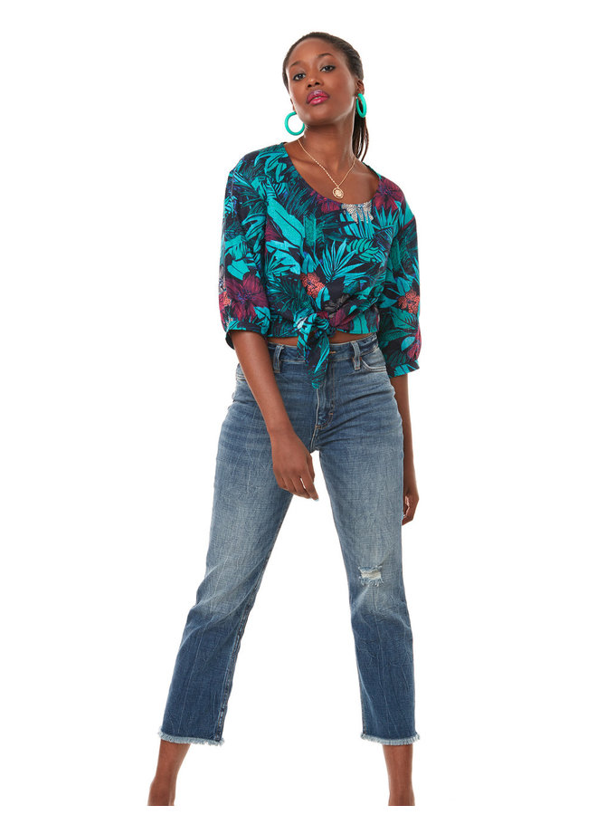 Blouse Mambo - forêt tropicale