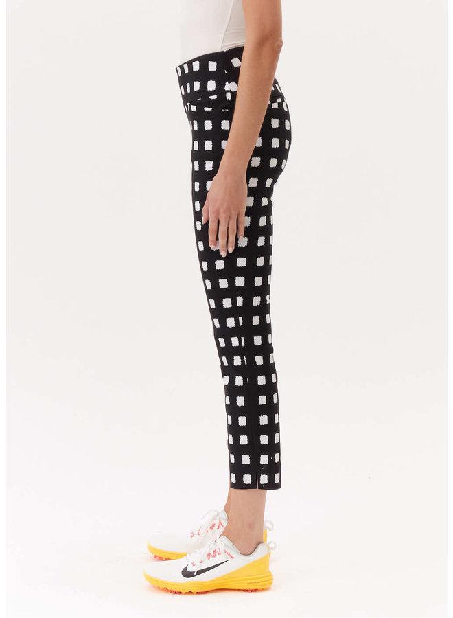 Pantalon cubes noir & blanc