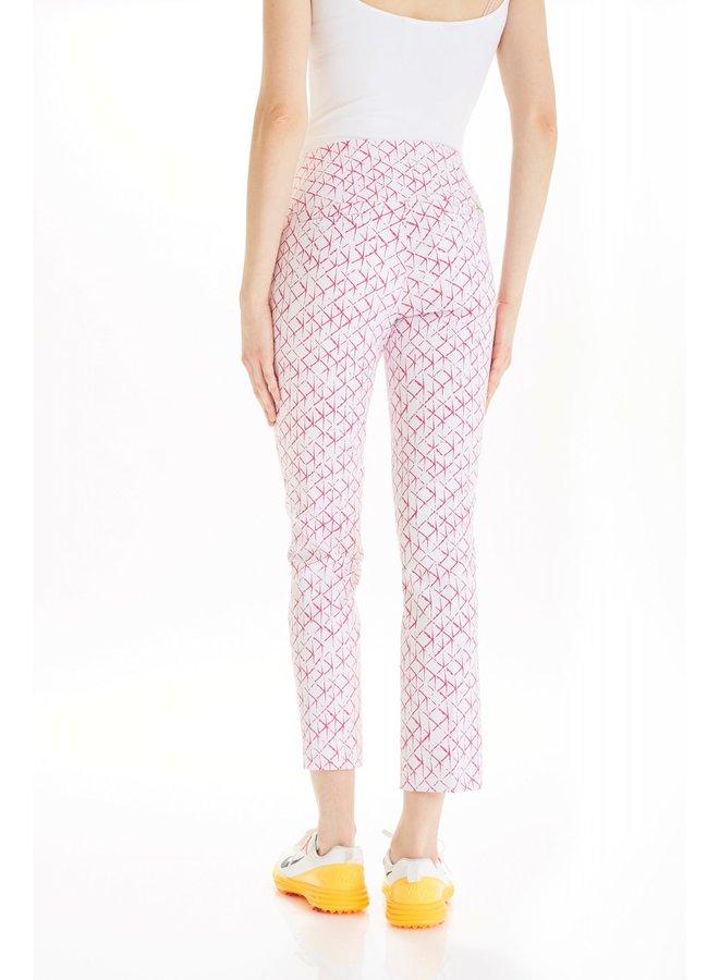Pantalon  - pink grid