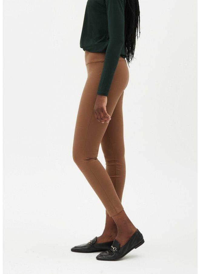 Pantalon skinny compression - camel