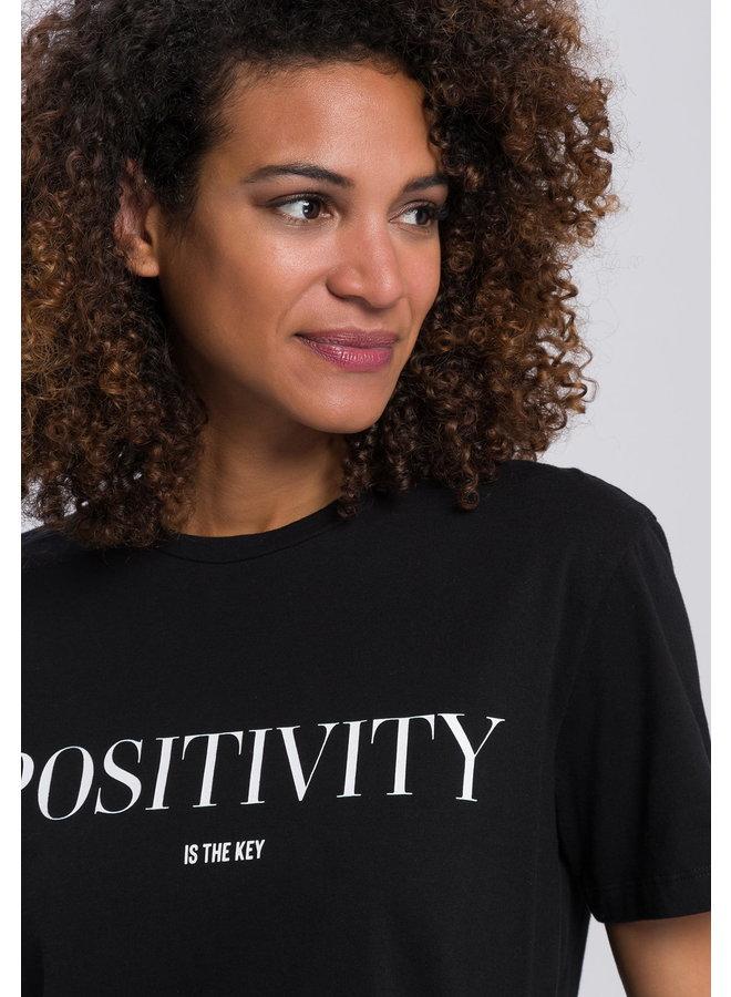 Chandail Positivity - noir