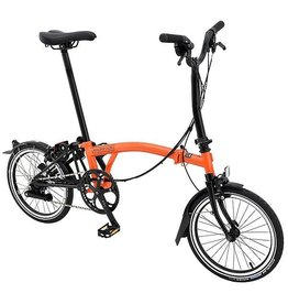 Brompton M6L Black Edition Orange