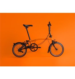 Brompton Brompton S6L Black Edition / Orange w/Kojak Tyres