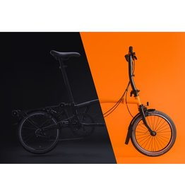 Brompton Brompton M6L Black Edition / Orange