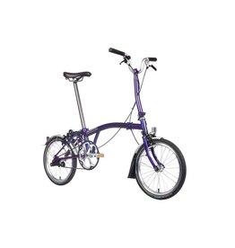 Brompton M6L Purple Metallic w/SP Dynamo