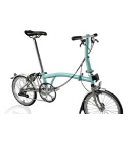 Brompton S2L Turkish Green / Titanium, Kojak Tires