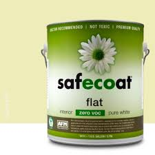 Safecoat Zero VOC (Eggshell or Flat) enamel paint cures quickly and provides a superior finish.