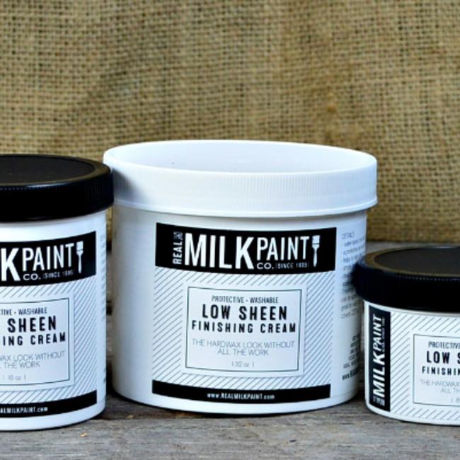 Real Milk Paint Finishing Cream