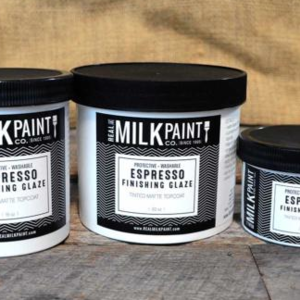 Real Milk Paint Finishing Glaze