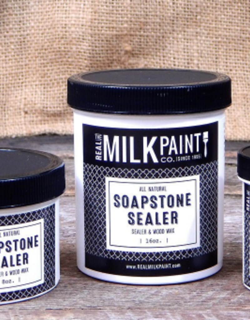 The Real Milk Paint Soapstone Stone & Wood Wax