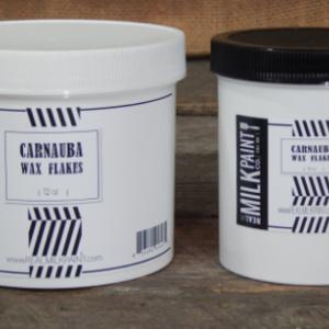 Real Milk Paint Carnauba Wax Flakes