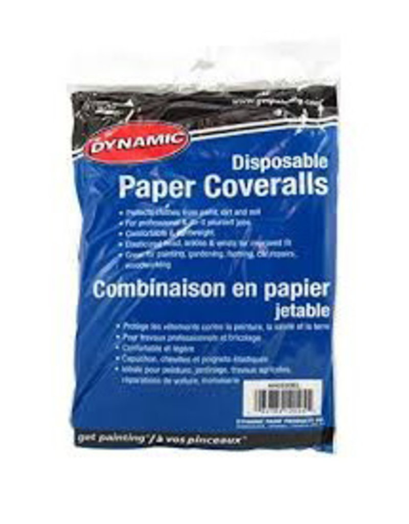 Dynamic Disposable Paper Coveralls