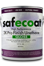 AFM Safecoat 2K Pro Finish Urethane Quart Satin