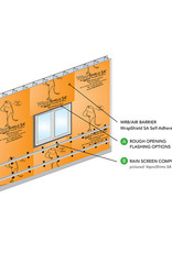 "VaproShield VaproFlashing SA (Orange) 11-3/4"" x 164'"