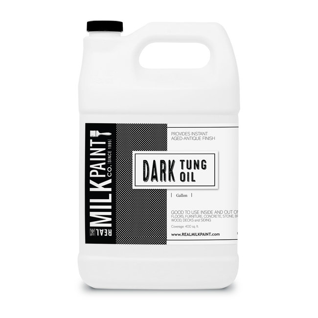 Real Milk Paint Dark Raw Tung Oil