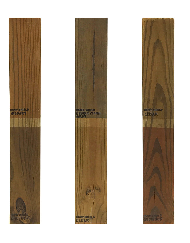 Hemp Shield Wood Finish & Deck Sealer