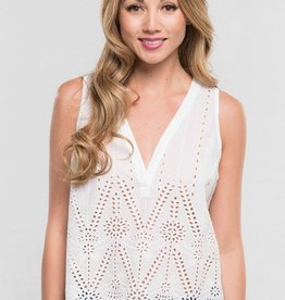 Lovestitch 11861 Sleeveless Eyelet Cami Top As Sized