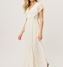 Lovestitch 71861WL Floral Embroidered Maxi Dress