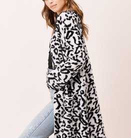 Lovestitch 50776 Leopard Long Duster As Sized