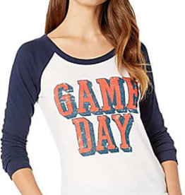 Chaser Chaser Game Day Baseball Tee As Sized