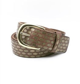 Amsterdam Heritage 35023 Leather Belt As Sized