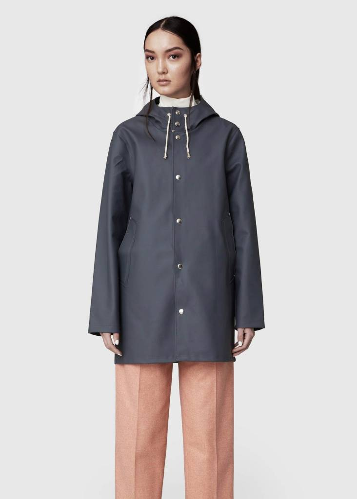 STUTTERHEIM STOCKHOLM CHARCOAL RAINCOAT