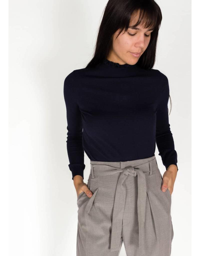 SWEATER WITH POINTELLES