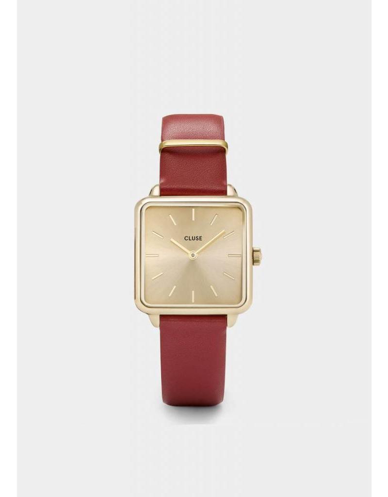 La Tétragone gold/scarlet red