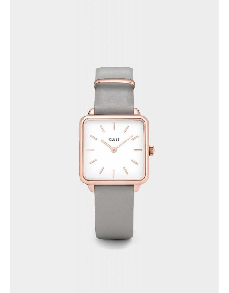 La Tétragone rose gold white/stone grey