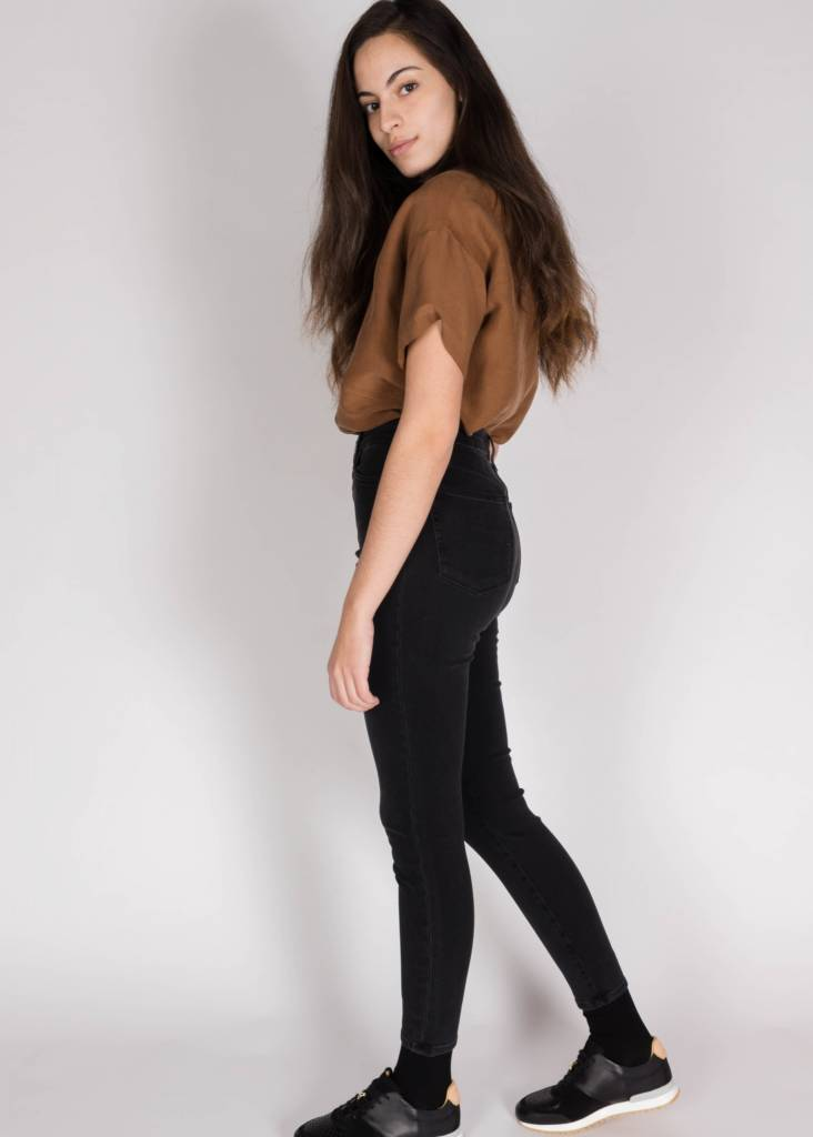 THE BELLA HIGH RISE SKINNY ANKLE