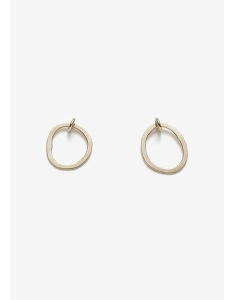 PILAR AGUECI Thea earrings gold