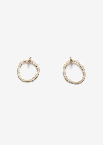 PILAR AGUECI Thea earrings gold