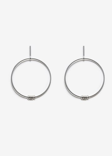 PILAR AGUECI Ilidi earrings silver