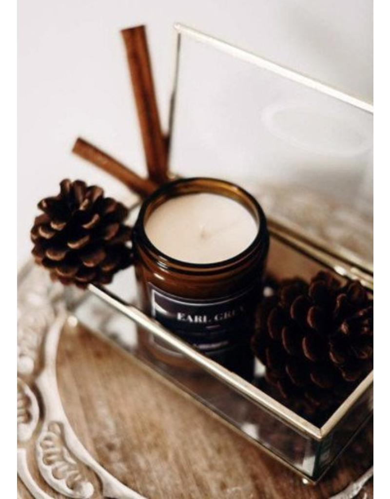 T.Lees Earl grey soy candle