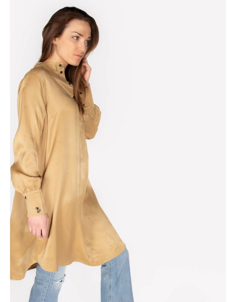 SCOTCH & SODA SHIRT DRESS IN VISCOSE