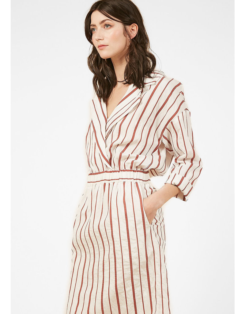 FRNCH STRIPED DRESS