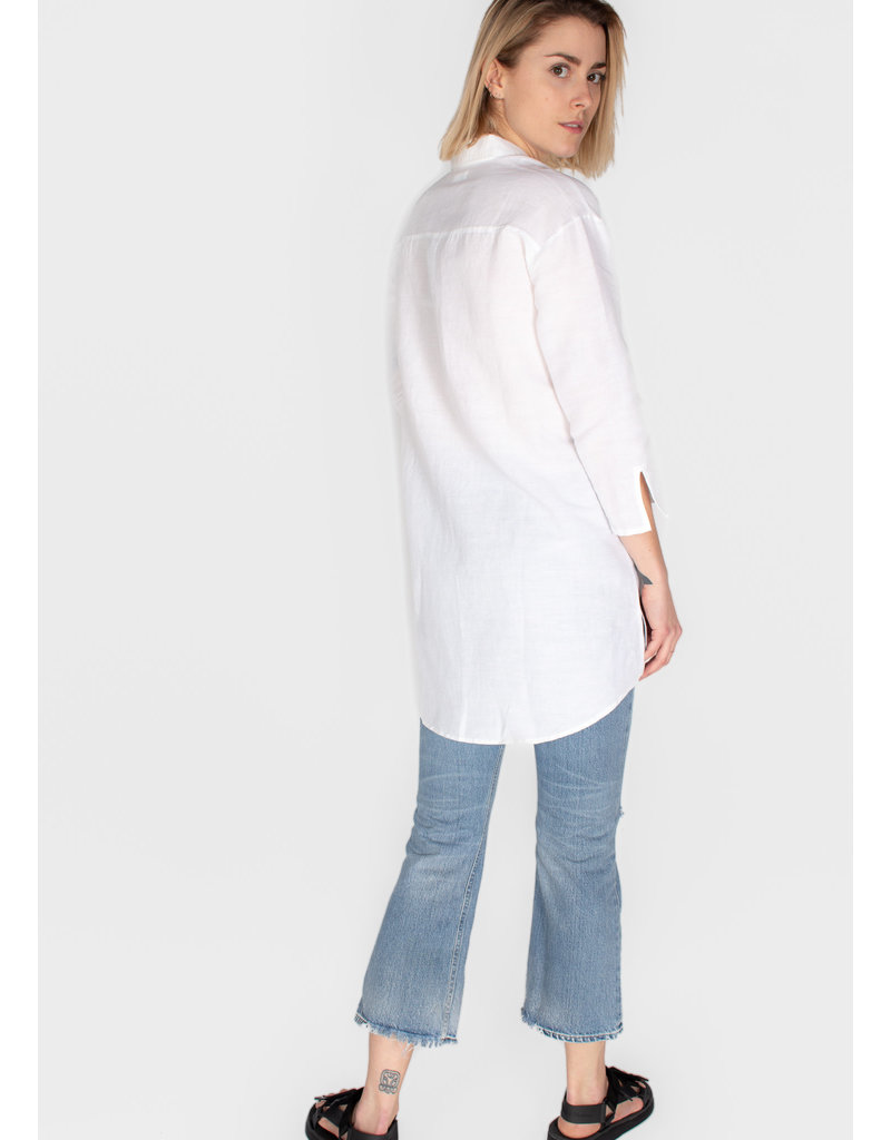 YERSE LINEN LONG SHIRT