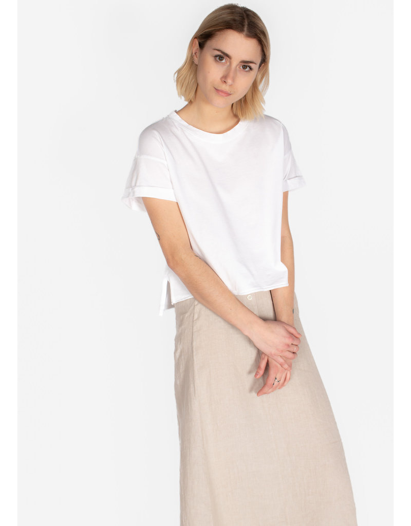 BELLA DAHL ROLLED TEE