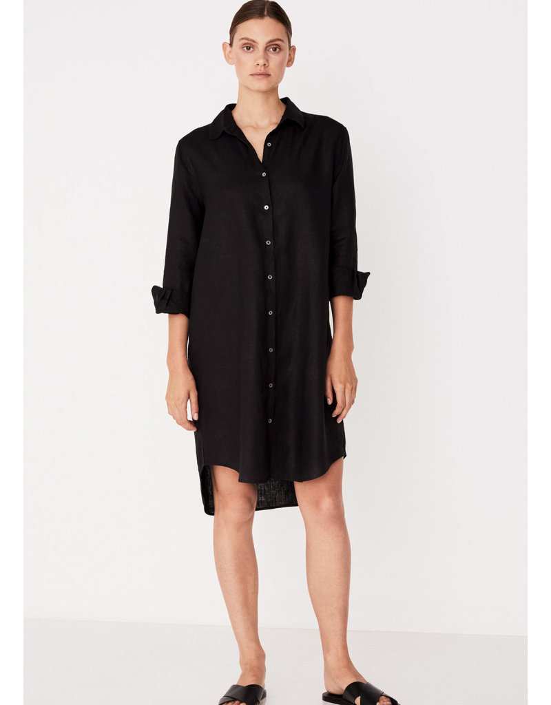 ASSEMBLY LABEL Xander shirt dress black
