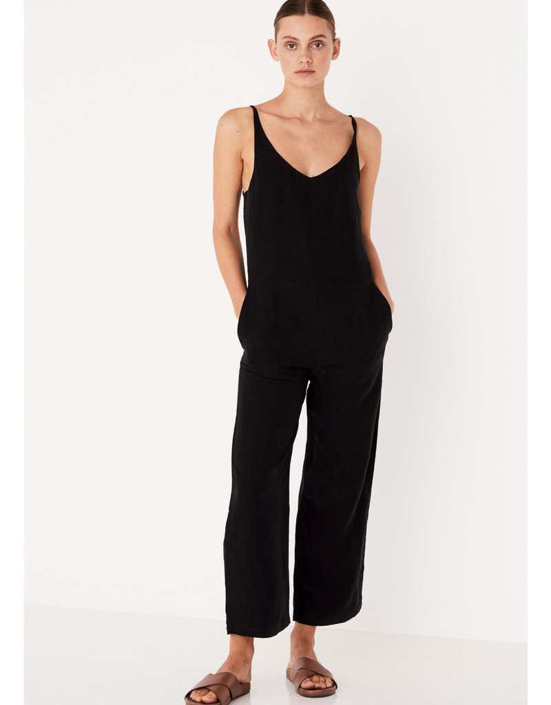 ASSEMBLY LABEL Wide leg jumpsuit black