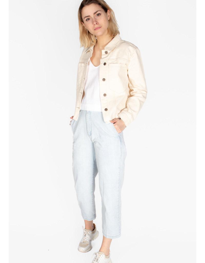 YAYA Coloured denim jacket
