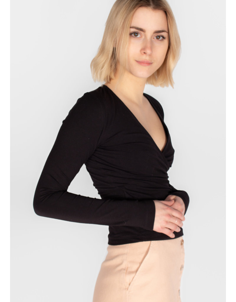 FRANK & OAK WRAP TOP